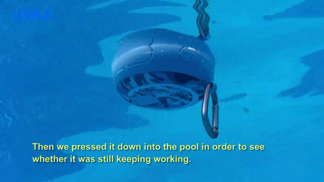 Tws swimming pool spa wirelss bluetooth speakers with - Waterproof speakers for swimming pools ...