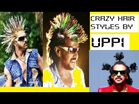Crazy Hairstyles In Films Real Star Upendra South Indian Films