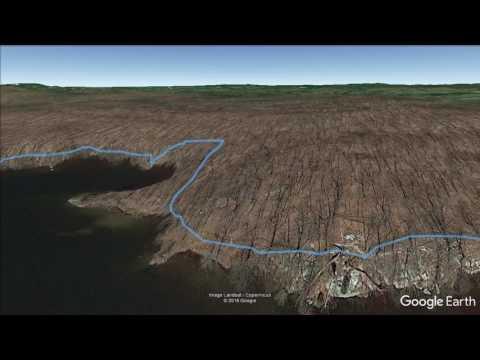 Nuclear Lake (Pawling, NY) - hike flyover