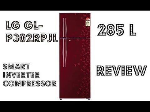 Lg Gl P302rpjl Refrigerator With Smart Inverter Compressor