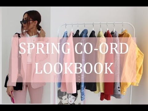 [VIDEO] - SPRING CO-ORD LOOKBOOK 2018 | 10 CO-ORDS FOR SPRING 7
