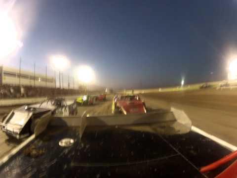 Route 66 Motor speedway Heat race 9/08/12 Amarillo, Texas
