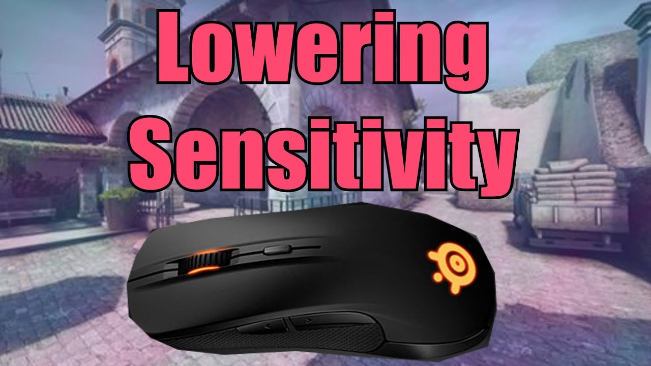 Lowering mouse sensitivity for cs go how it felt youtube for Cs go mouse