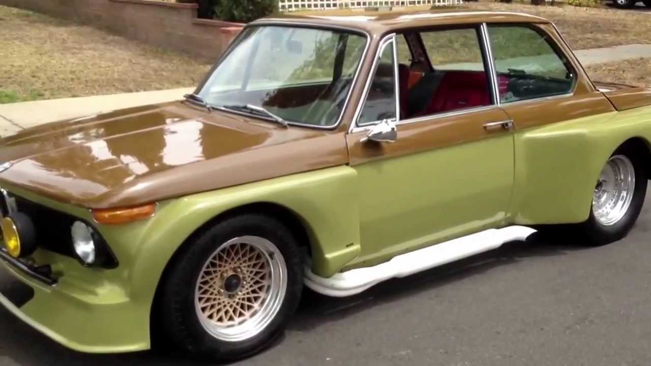 Bmw 2002 For Sale >> 1969 BMW 2002 Widebody Insanity - YouTube