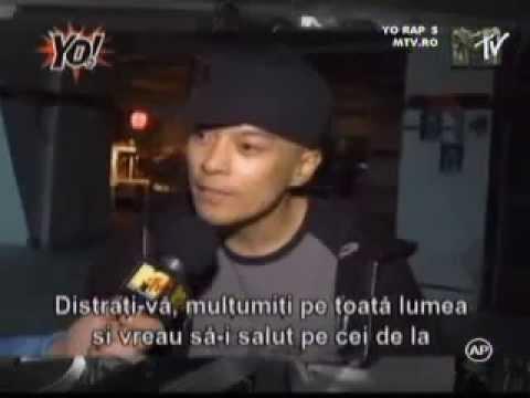 DJ QBert interview for YO! MTV Raps Romania