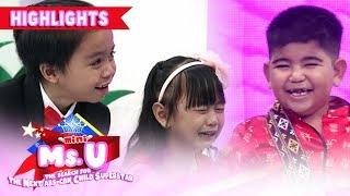 Enzo and Trisha challenge Yorme in an acting battle | It's Showtime Mini Miss U