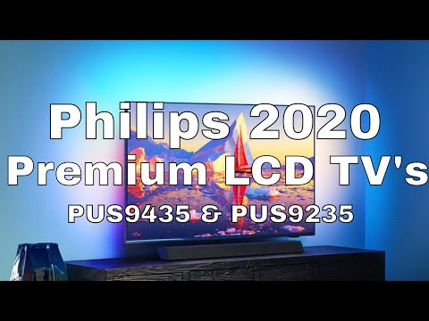 Philips 2020 Premium LCD TV PUS9435 and PUS9235