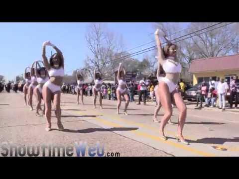 Dancing Dolls of Southern University - 2017 Mardi Gras Parade