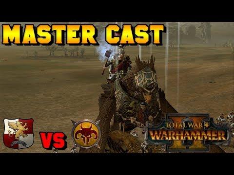 Master Cast: Aerocrastic (Empire) vs. Beastmen | Total War: Warhammer 2