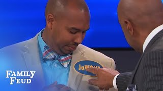 What's in a name (tag)? | Family Feud
