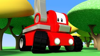 LOST in the Woods!  - Tiny Trucks for Kids with Street Vehicles Bulldozer, Excavator & Crane