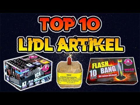 TOP 10 BESTE LIDL FEUERWERKSARTIKEL | Silvester2k