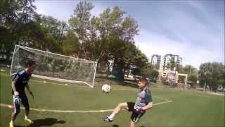 Séance d'entrainement des gardiens du FC Montréal (Go Pro HD)