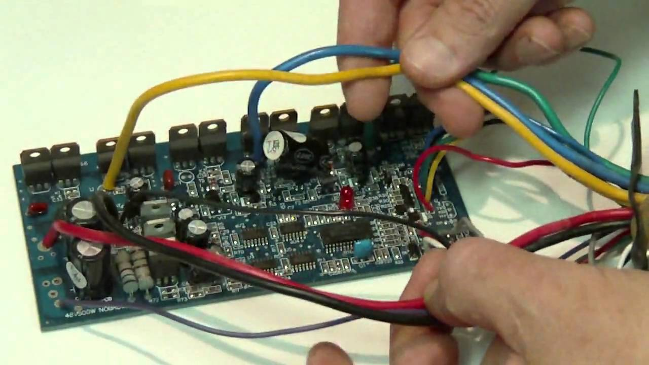 Homemade BLDC Hub Motor Speed Controller ProjectDaymak