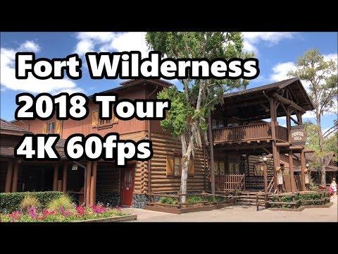 Disney's Fort Wilderness Resort & Campground | Full Tour 2018 | 4K 60fps | Walt Disney World