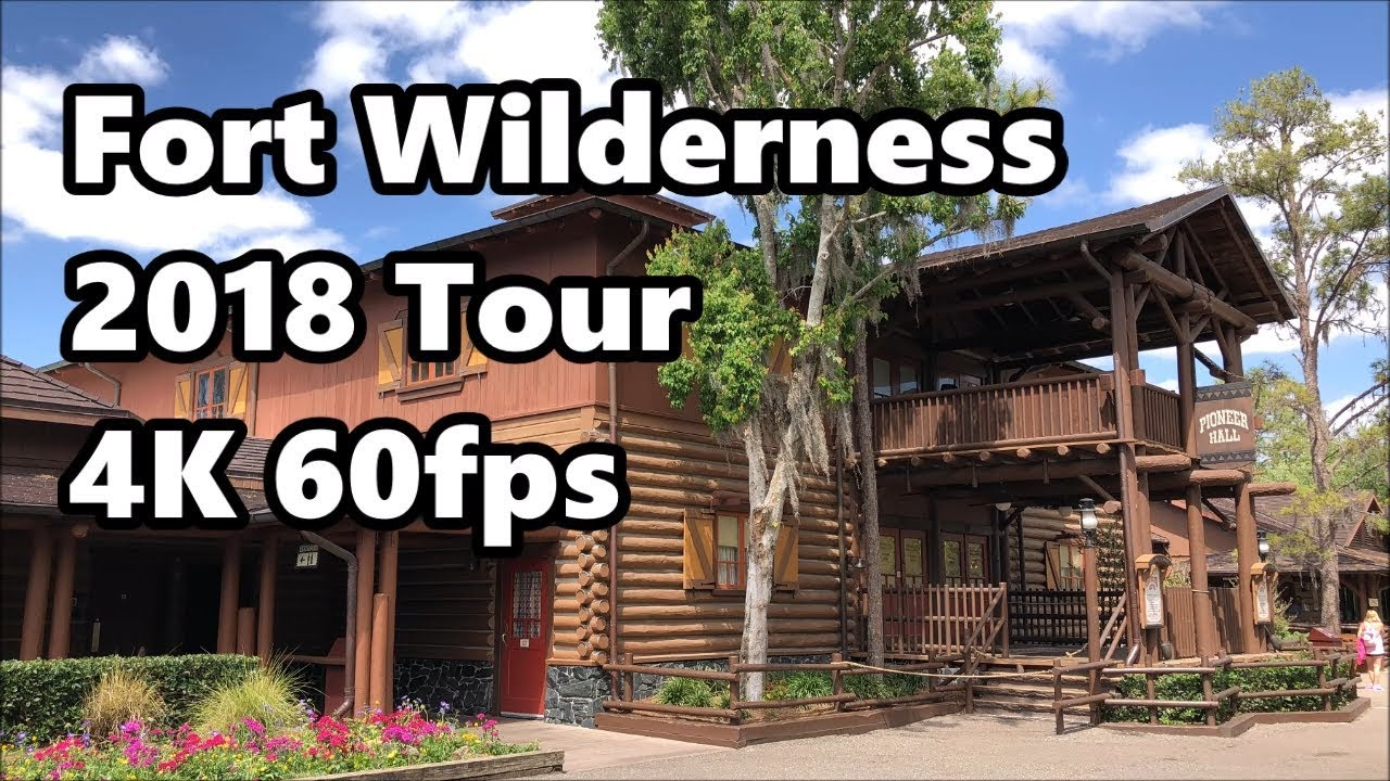 Disney's Fort Wilderness Resort & Campground | Full Tour 2018 | 4K 60fps | Walt Disney World #1