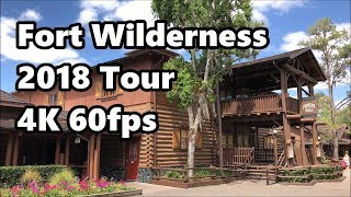 Disney's Fort Wilderness Resort & Campground | Full Tour 2018 | 4K 60fps | Walt Disney World