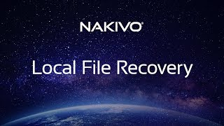 Recovering Files from VM Backups Stored Locally - NAKIVO Backup & Replication