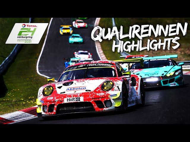 Doppelsieg für Frikadelli Racing! | HIGHLIGHTS | ADAC 24h-Qualifikations-Rennen am Nürburgring 2021