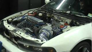 Single Turbo Galant VR4 6a13 Dyno 292kw (400hp) ATW