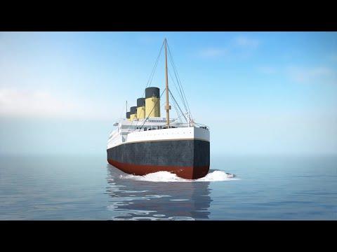 China to build replica ship of the Titanic