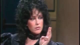Grace Slick on Letterman, January 10, 1983