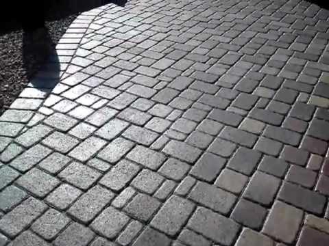 Bon Finished Paver Sealing With Wet LOOK Interlocking Concrete Paver Sealant  That Locks Paver Sand