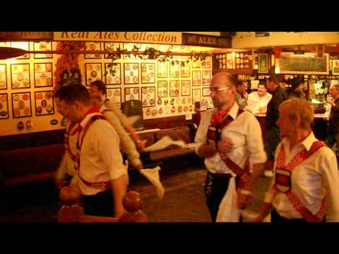 Cardiff Morris dance Jockey in Penarth. 10th July 2012.