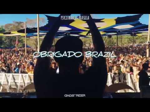 Ghost Rider Live Psycotrance Brasilia 2018 Brazil