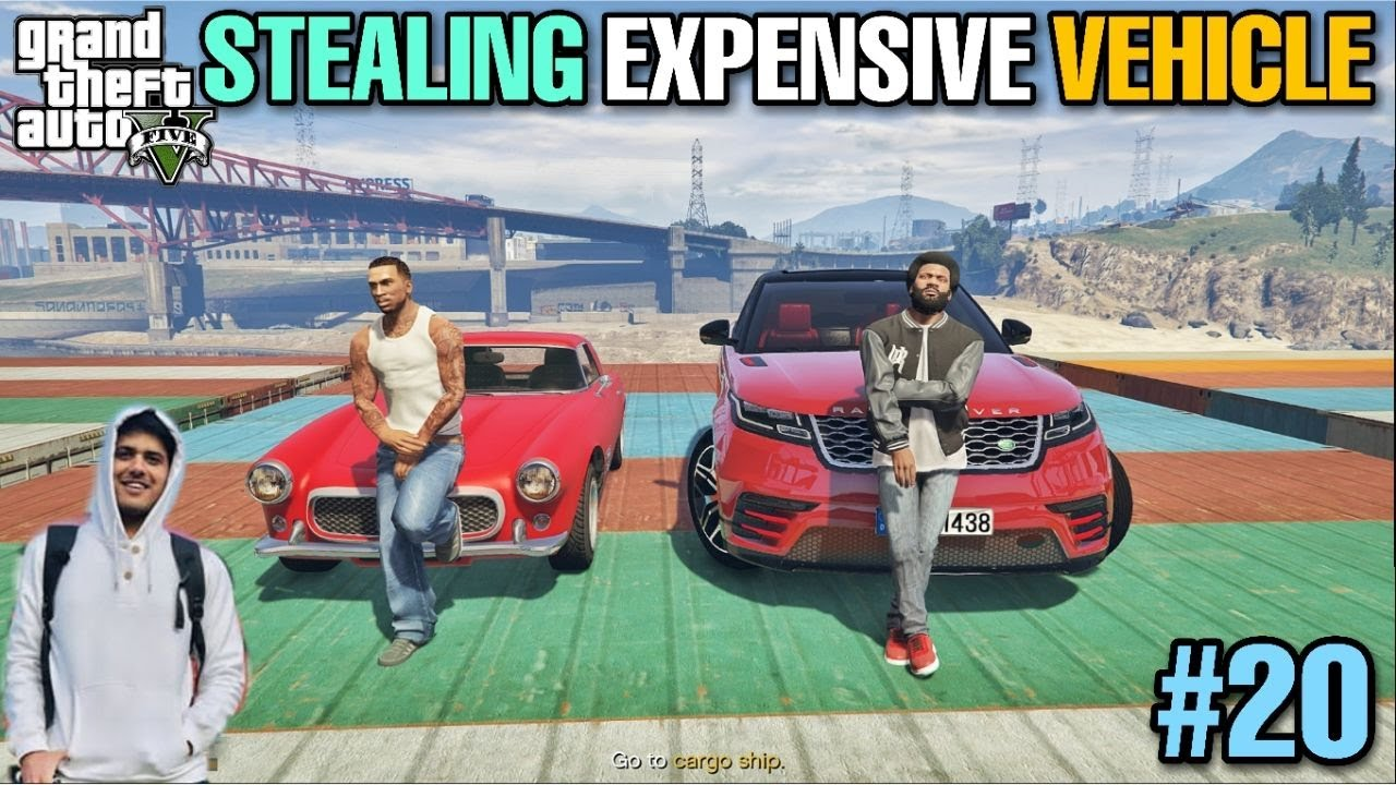 STEALING EXPENSIVE BULLET PROOF CAR | GTA 5 GAMEPLAY #20