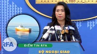 Điểm tin RFA | VN phản bác tuyên bố mới nhất của phía TQ về hoạt động ở Bãi Tư Chính