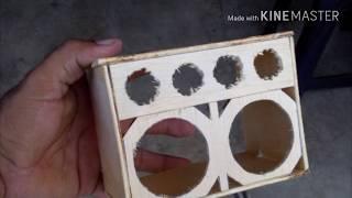 Como fazer Mini caixa de Madeira com Reboque