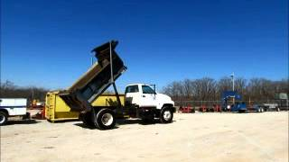 Sold! 2000 GMC C6500 Single Axle 5 Yard Dump Truck PTO A/C A/T bidadoo.com