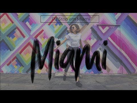 Vlog 1: Pit Stop em Miami | | Fotos em Wynwood Walls