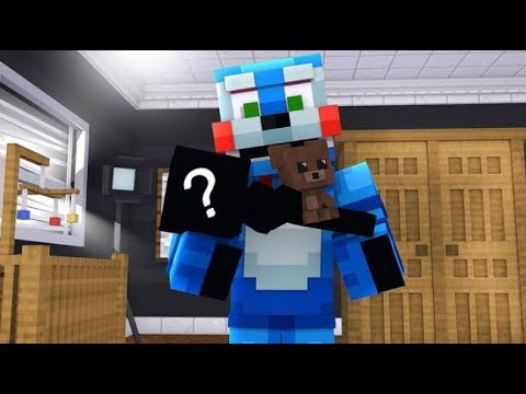 Bon Bon meets his daughter from the future! (Minecraft Fnaf Daycare)