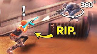 360 TRICKSHOT vs OPERATIVE!! Critical Ops Best Moments! C-OPS