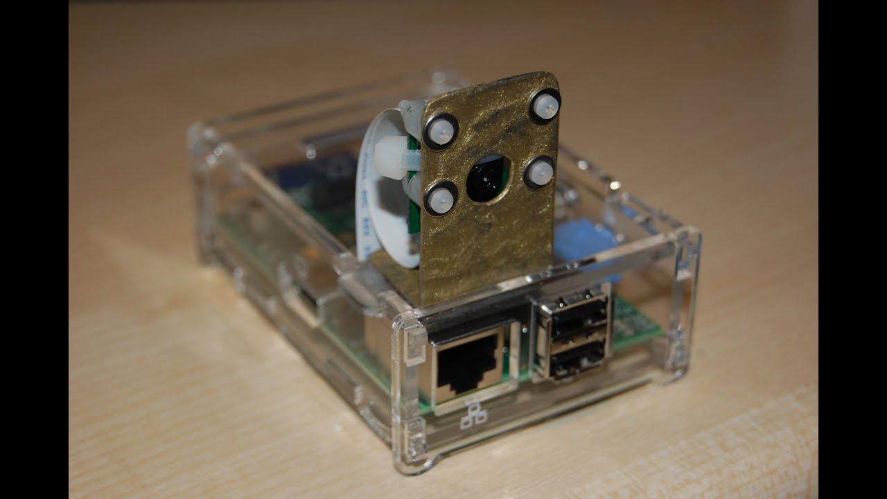 raspberry pi case with camera mount