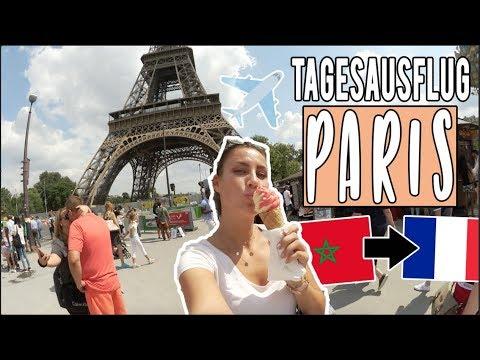 PARIS in 10 Stunden! OMG ich nehme euch mit bei meiner spannenden Reise! • VLOG