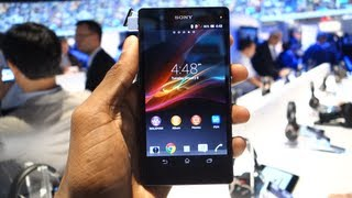 Sony Xperia Z at CES 2013!