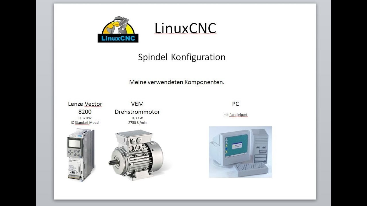 #11 LinuxCNC & Parallel Port - PWM zu 0-10V - Konfiguration einer Spindel  by talla83