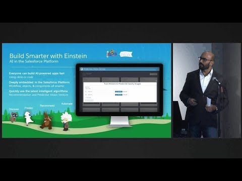 Salesforce Dreamforce 2016 – Commerce Cloud Einstein helps personalize customer journeys