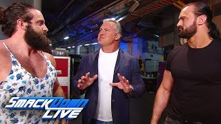 Shane McMahon adds a few stipulations to Roman Reigns vs. Kevin Owens: SmackDown LIVE, July 23, 20..