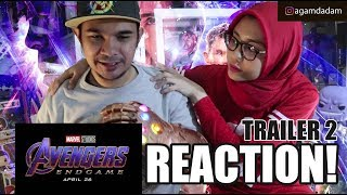 AVENGERS: ENDGAME Official Trailer REACTION & REVIEW! (Indonesia)