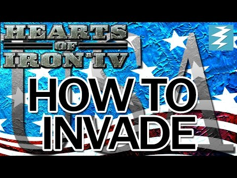 Invade USA Tutorial - Hearts of Iron IV HOI4 Paradox Interactive