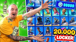 MIN 20.000 KRONOR LOCKER I FORTNITE