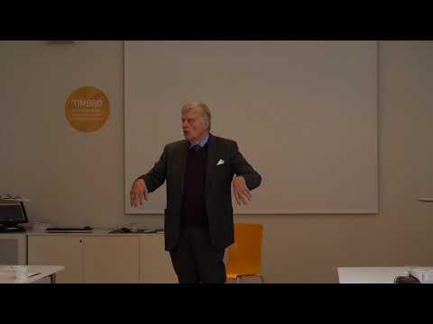 Professor Sverker Gustavsson föreläser om populism för Utrikesakademin (2017/09/16)