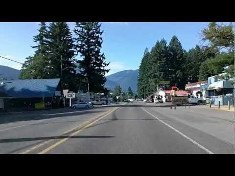 Packwood, Randle, and Gifford Pinchot National Forest Time Lapse Drive