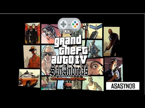 #12 20 minut z...Grand Theft Auto IV: San Andreas [Gameplay PL]