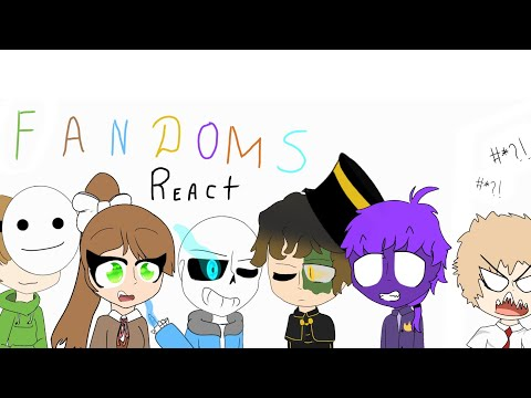 {Fandoms react to eachother} (pt. 1)