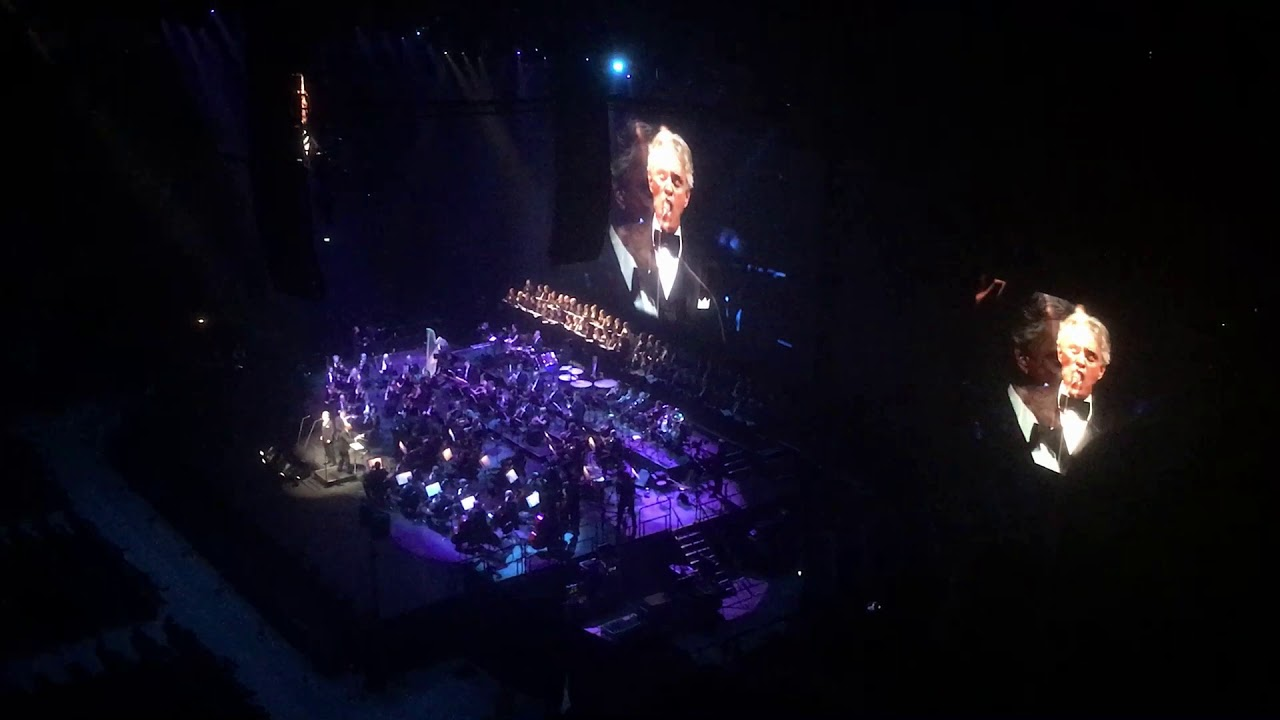 Andrea Bocelli Helsinki